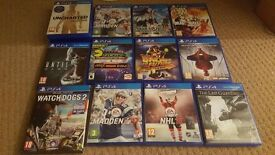 PS4 Game Can Deliver W2K16 Watch Dogs 2 NBA COD Black Ops 3 Ninja Turtles Dirt Rally Rainbow Six