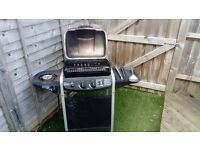 Gas bbq used good condition with tools and gas bottle