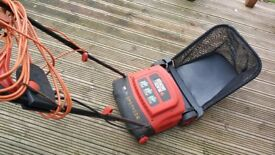 BLACK & DECKER ELECTRIC LAWN RAKE
