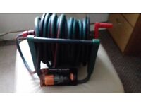 Hose Reel with extras