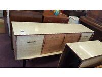 Vintage Dresser and Table