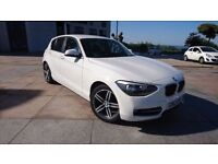 2013 BMW 116D SPORT TWIN TURBO DIESEL 2 LITRE ECONOMIC ROAD TAX ONLY £30 A YEAR