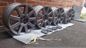 17'' Audi alloy wheels for sale