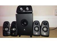 Logitech Z506 speakers 5.1 system.