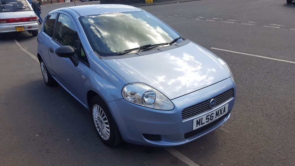 fiat grande punto 2007 blue 1 2 petrol 3door 45k miles 12 months mot in sheffield south. Black Bedroom Furniture Sets. Home Design Ideas