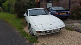 Porsche 924s 12 months MOT
