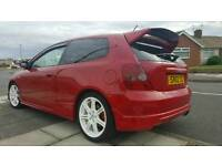 HONDA CIVIC TYPE R MILANO RED FSH 12 MONTHS M.O.T PX WELCOME