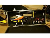 Trex 250 3d rc helicopter in case rtf