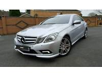 59 REG MERCEDES E350 CDI AMG SPORT COUPE RED LEATHER E CLASS C207 FULLY LOADED