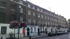 Central London furnished studio flat in a period building