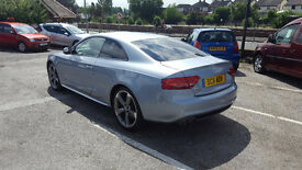 2011 AUDI A5 S LINE BLACK EDITION ONLY 47K MILEAGE ONE FORMER OWNER 12 M MOT 6 M NATIONWIDE WARRANTY