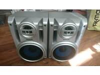 2 x Panasonic speakers