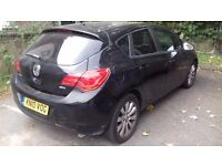 Vauxhall astra turbo diesel injection 2010 model