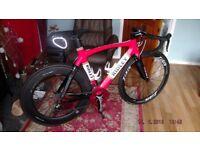 Ridley medium full carbon bike. Team issue