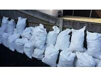 Free rubble/hard-core 60 sacks available, take as much or little as you need