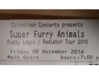 Super Furry Animals - Fri 9th December - 2 x Seated Tickets - Row D - Camden Roundhouse
