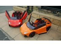 Lamborgini Roadster Sv In 5 Colours, Parental Remote control & Self Drive Ride-On