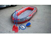 inflatable rubber dinghy