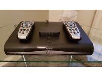 Sky+hd box , two remotes , WiFi