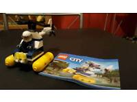 Lego city police helicopter set 30311