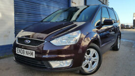 2008 FORD GALAXY 1.8TDCI NEW CAMBELT EXCELLENT 7 SEATER TOWBAR WARRANTY