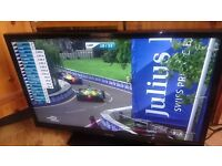 "32""3D slim led tv full hd immaculate condition."