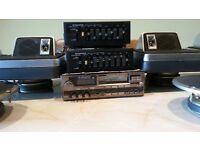pioneer radio 4 track cassette