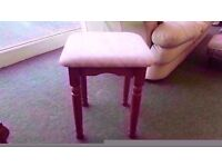 BRAND NEW! dressing table stool beige colour