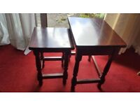 Nest of two coffee tables