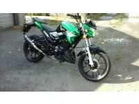 Lexmoto venom 66reg green/black