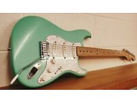 Fender USA Strat, 2002 With Hard Case and Candy what a stunning guitar!