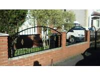 Iron Gates and fencing, no high charge!