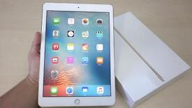 iPad Pro 32gb Gold Unlocked 9.7 mint new condition with box and Reciept