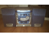 Working Stereo system with 2 matching speakers