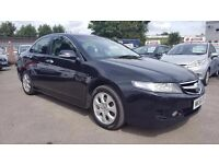 HONDA ACCORD 2.2 I CDTI EXECUTIVE FACELIFT SAT NAV FULL LEATHER 6 SPEED 2007 / 1 OWNER / FDSH