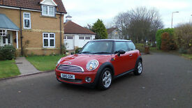2010 10 MINI HATCH COOPER 1.6 COOPER 3d 122 BHP *PART EX WELCOME*FINANCE AVAILABLE*WARRANTY*