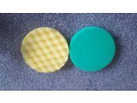 1 x 3M Perfect-it III Polishing Pad Yellow and Green 150mm