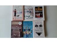 Bundle of 6no. good books (all fiction)