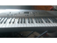 Casio CTK-230 Keyboard with stand and book