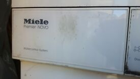 Miele W842 washing machine - working when last used but noisy