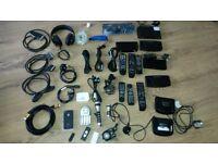 Cables, Digital boxes, atc..