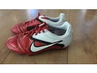 Kids Nike football boots