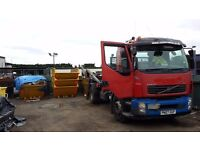 Volvo Skip Truck with 8 Skip Containers