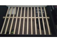 KING SIZE BED FRAME WITH NEW MATTRESS