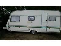 Swift 5 berth caravan