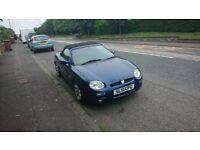 MGF for sale, doer-upper or for spares/repairs. Engine has failed, possibly big end.