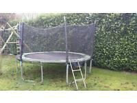Outdoor 12 foot trampoline
