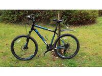 Trek 3700 mountain bike black and blue