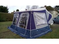 Camplet Concorde SE 2012 trailer tent with extras