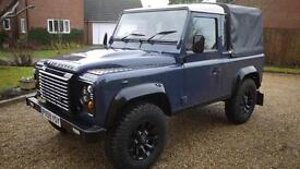 Landrover Defender 90 Puma Tdci pick up 76k miles with extras must see